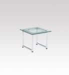 D-T20E ガラステーブル 500角・H400