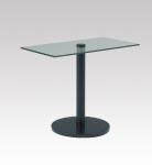 D-T30BK ガラステーブル W900・D500・H720