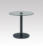 D-T32BK ガラステーブル φ750・H720