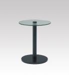 D-T33BK ガラステーブル φ600・H720