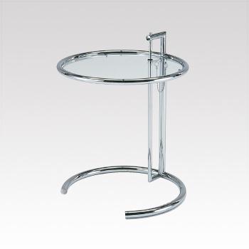 D-T36 ガラステーブル φ510・H630-1040