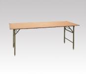 R-T24A ベニヤテーブル W1800・D450・H700