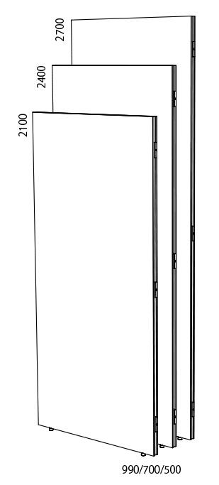 BEA-W500×2100 ビューティフルウォールW500×H2100