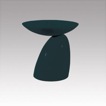 D-T15BK PVテーブル 黒 φ600・H570